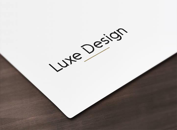 Logo Luxe Design